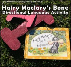 Hairy Maclary's Bone: Directional Language Activity - Learn with Books
