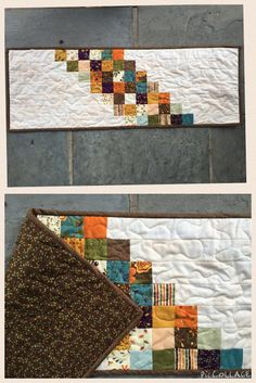 Julie's Quilts: Easy Peasy Table Runner