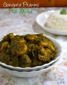 Gongura Prawns | Gongura Royyalu Recipe Popular Andhra gongura prawns is sorrel leaves cooked with prawn and mild spices to make this delicious curry.
