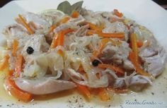 Receta de Pollo en escabeche argentino - Fácil - 10 pasos Best Meal Delivery, Latin American Food, Cooking Recipes, Healthy Recipes, Cooking Light, I Love Food, Food Dishes, Chicken Recipes, Easy Meals