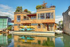 Luxury Lake Union Floating Home