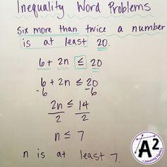 21 Algebra 1 Inequalities Ideas Algebra 1 Algebra Inequality