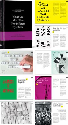 Never Use More Than Two Different Typefaces And 50 other Ridiculous Typography Rules