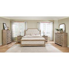 One Allium Way Pennington Platform 6 Piece Bedroom Set & Reviews   Wayfair