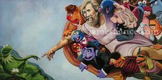 'The Creation Of Muppet'