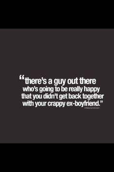 crappy ex-boyfriend