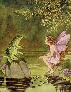 The Fairy and the Frog by Ida Rentoul Outhwaite