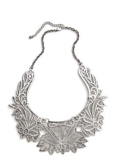 Clad in Chrysanthemums Necklace