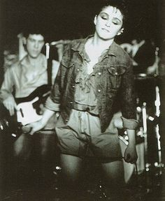 Does she look familiar? 1981  Madonna Max's Kansas City - - Vintage NYC
