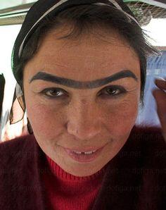 Eyebrows - Weird Bad Ugly - Anaconda Unibrow