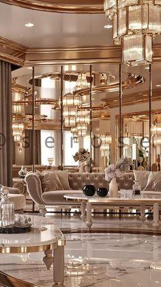 Mansion Interior, Luxury Homes Interior, Luxury Home Decor, Luxury Home Designs, Mansion Bedroom, Interior Trim, Luxury Rooms, Luxurious Bedrooms, Luxury Cars