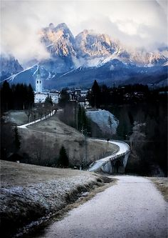 Mountain Village, Cortina d´Ampezzo, Italy