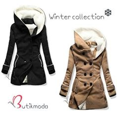 ☁Part of winter collection online ❄ #butikmodade #butikmodaat #butikmodahu 💙⛄ #coat #wintercollection #wintercoat #camel #black #newin #newcollection #online