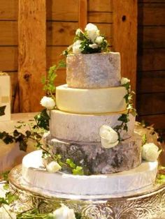 I want my really raw cheese for a wedding cake! I hate cake (always have) and LOVE cheese (always have) this would be much better!