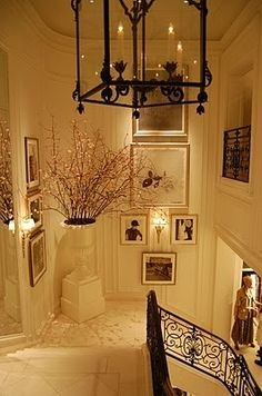 Ralph Lauren's Home-actually this is at the flagship store,not his home-it was in a past Architectural Digest article.