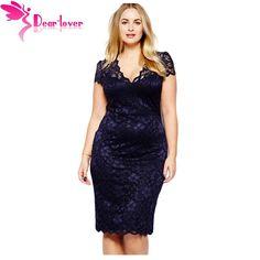Encontrar Más Vestidos Información acerca de Dear Lover Vestido Renda Roupas…