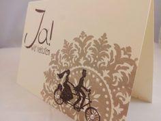 Einladungskarten - Einladung Hochzeit | Ja ! Wir heiraten - ein Designerstück von Stempeldorf bei DaWanda