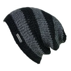 6d195e26e2d Description - Specs - Washing - Mens Slouchy Beanie - This over-sized beanie  is a King   Fifth classic
