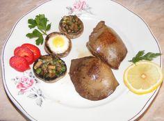 Fried pork liver http://preparatedevis.blogspot.com/2013/03/ficat-de-porc-prajit-retete-si.html