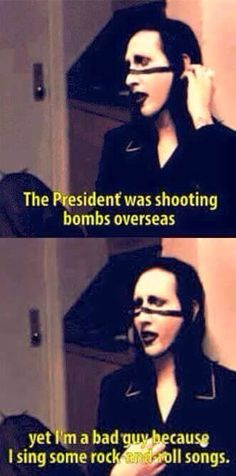 3832 best marilyn manson images on pinterest marilyn manson band marilyn manson enlightening interview with michael moore from the documentary bowling for columbine fandeluxe Gallery