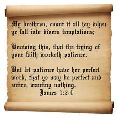 James 1 Verses 2-4   Inspirational Christian Quotes