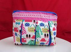 Cosmetic bag Cosmetic purse Makeup bag Women purse by MyNihonjin