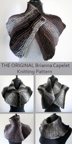 Knitting Pattern for Outlander Inspired Brianna's Capelet - The designer of the . Knitting Pattern for Outlander Inspired Brianna's Capelet - The designer of the original capelet worn by Brianna in seas. Capelet Knitting Pattern, Outlander Knitting Patterns, Love Knitting, Knitting Patterns Free, Knit Patterns, Knitted Capelet, Vintage Knitting, Hand Knitting, Stitch Patterns