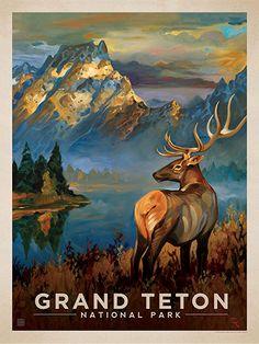 Grand Teton National Park: Morning Mist    KAI CARPENTER & JOEL ANDERSON