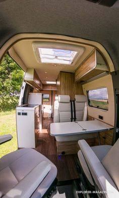 Kastenwagen im Test: Hymer Grand Canyon S Van Conversion Layout, Van Conversion For Family, Van Conversion Interior, Camper Van Conversion Diy, Interior Motorhome, Van Interior, 4x4 Camper Van, Car Camper, Custom Camper Vans