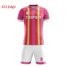 46a7d84649a Find More Soccer Jerseys Information about custom put your name pink color  football jerseys football shirt