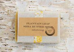 Plantain Handcrafted Soap - Sensitive Skin. $5.50, via Etsy.