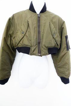 Vintage 80s GAULTIER Junior cropped bomber by theStitchkeeper, $115.00