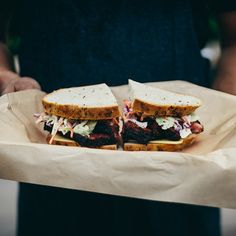 """Mendocino Farms' Pastrami Project."" Known for premier sandwiches, Mendocino Farms reimagines an American classic—the pastrami sandwich—in their latest concept known as Our Pastrami Project."
