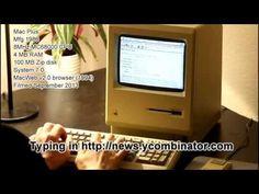 Um Mac de 27 anos é conectado à internet – demora, mas funciona, veja o vídeo http://www.bluebus.com.br/1-mac-de-27-anos-e-conectado-internet-demora-mas-funciona-veja-o-video/