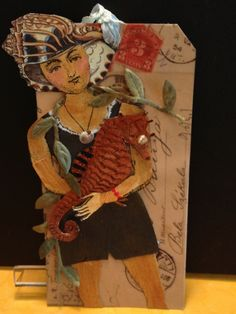 Character Construction Tag Swap:  Summer:   Theme: 1920's bathing beauties by Susan Whittemore