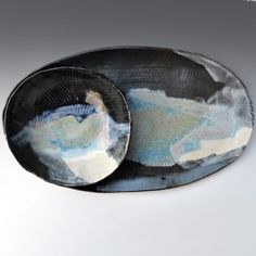 OneClayBead plate and platter on etsy.com
