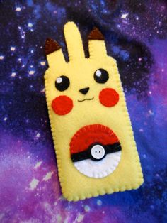 Hey, I found this really awesome Etsy listing at https://www.etsy.com/listing/183681454/pokemon-pikachu-phone-sleeve-sock-case