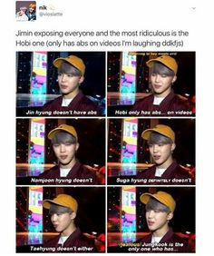 bts exposed (by jimin)