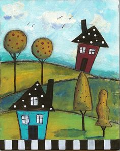 Folk Art Village by marthalever, via Flickr