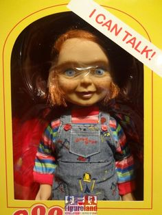 "New stock arrival 17-10-2016.  Mezco Toyz 15"" Mega Scale Talking Good Guys Chucky doll.  A UK exclusive."
