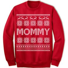 Mommy Ugly Christmas Sweater. – Merry Christmas Sweaters