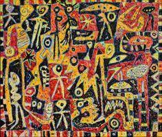 """ Homo Erectus "" ( painting nr 958 )"