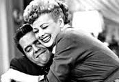 may have just realized that I do this to Justin, he makes that face, and I may have subconsciously gotten this slick move from I Love Lucy... Ooops :)
