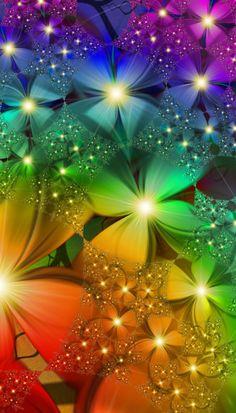 Fractal Art...Rainbow Garden