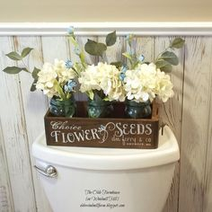 """Antique Sewing Drawer turned """"Seed Box"""" Planter"""
