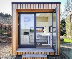 Garden Home Office, Shed Office, Office Pods, Tiny Office, Backyard Office, Backyard Studio, Small Garden Office Pod, Shed Design, House Design