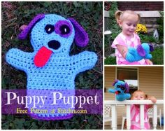 Dog Puppet - Free Pattern by Stitch11