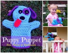 Dog Puppet - Free Pattern by Stitch11