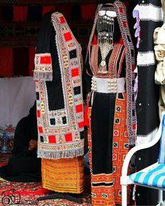 Bedouin women dress from Hijaz area of Saudi Arabia