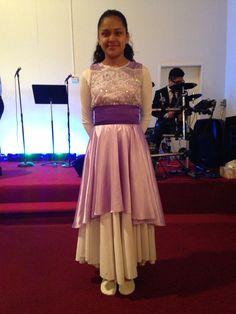 Danza cristiana templo Emanuel devora ruano